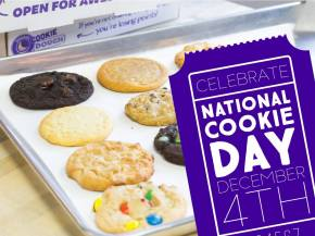 Free Cookie at Insomnia Cookies for National CookieDay