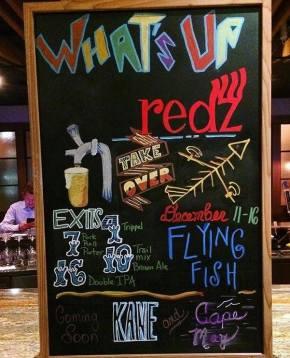 Redz Restaurant & Flying Fish Pair Up for BeerDinner