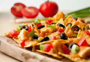Fly Eagles Fly: Nacho Recipe from Campbell's Kitchen