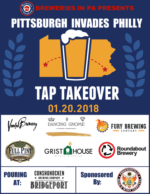Pittsburgh Invades Philly Tap Takeover