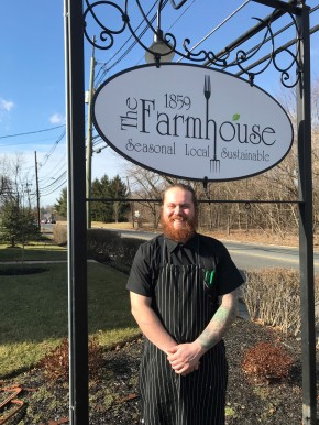 New Chef & New Menu for The Farmhouse in Cherry Hill