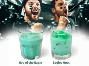 Fly Eagles Fly! Green Cocktails for EaglesCelebration
