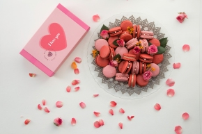 Limited Edition French Macarons for Valentine's Day at Woops!