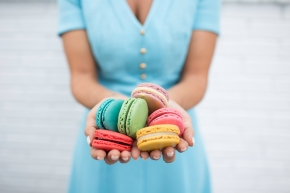 Free Macaron for First 200 at Woops! on MacaronDay