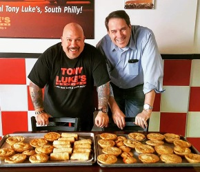 The Flying Pie Guy Introduces New Roast Pork Italian Meat Pie to Benefit Tony Luke Jr.'s 'Brown and White' Initiative