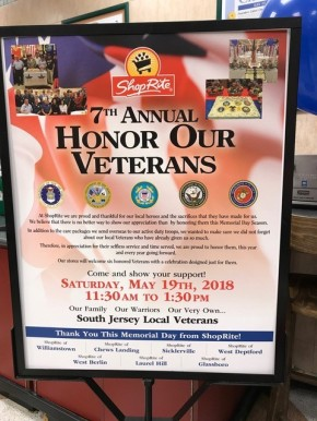 South Jersey ShopRite Supermarkets Honor Veterans